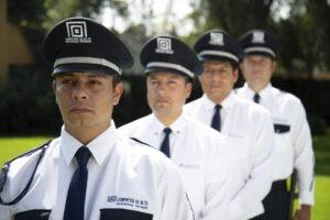 Empleo de guardias de seguridad
