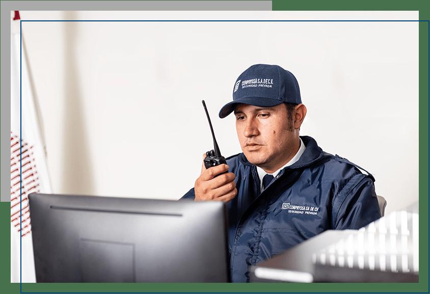 Monitor de videocamaras Seguridad privada